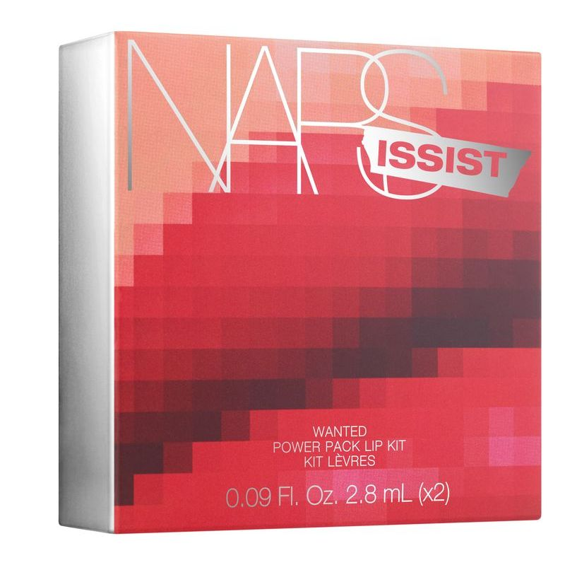 NARSissist Wanted Power Pack Lip Kit - Hot Reds Carton