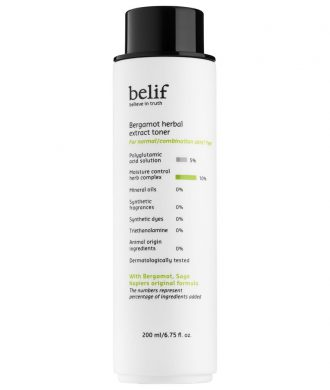 Belif - Bergamot Herbal Extract Toner