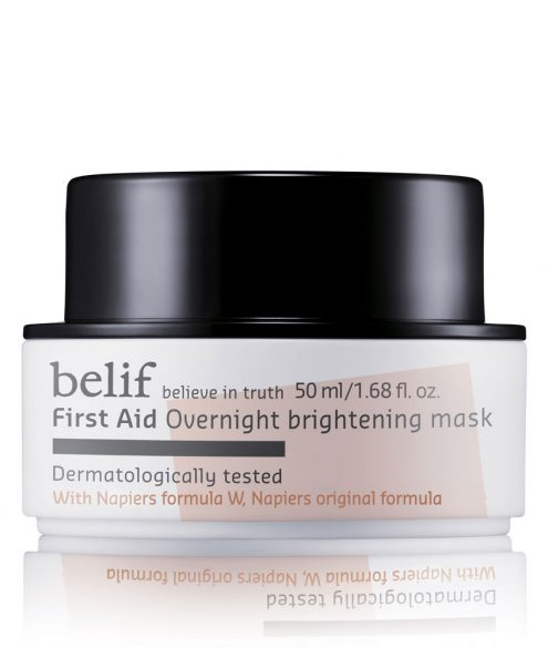 Belif - First Aid Overnight Brightening Mask