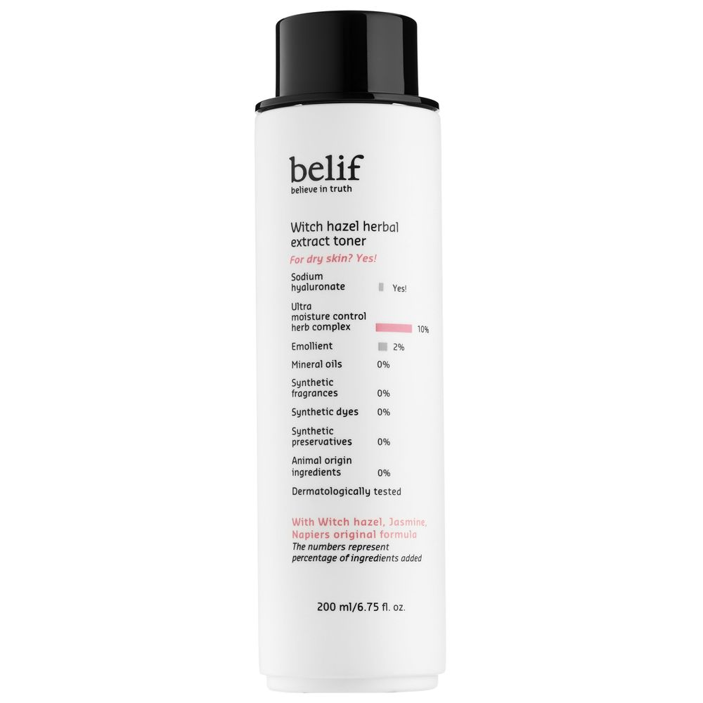 Belif - Witch Hazel Herbal Extract Toner