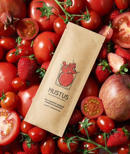 Mustus - DAILY HARVEST SQUEEZE POWER UP MASK ELASTIC / CONDITIONING ELASTYCZNOŚĆ / SIŁA