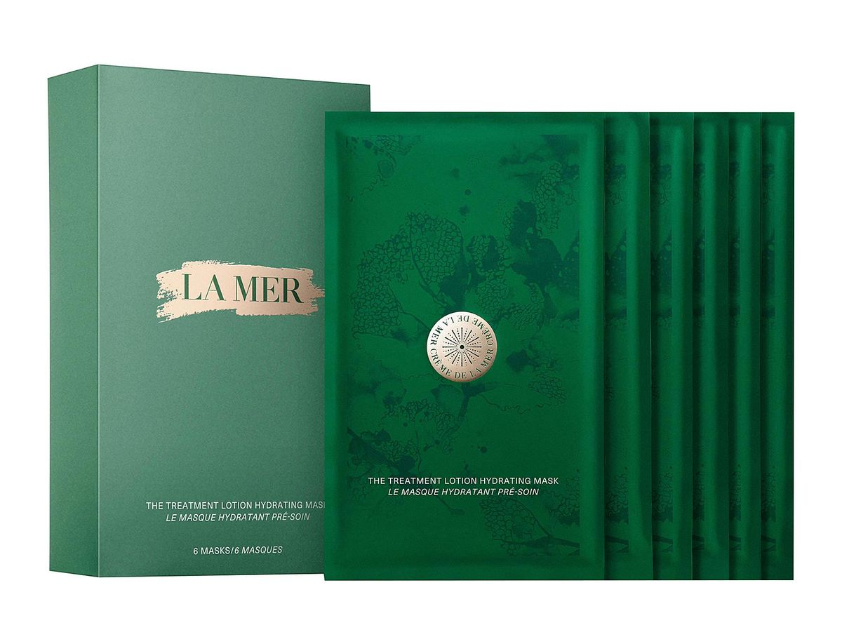 Treatment Lotion Hydrating Mask od La Mer - nowe maseczki do twarzy